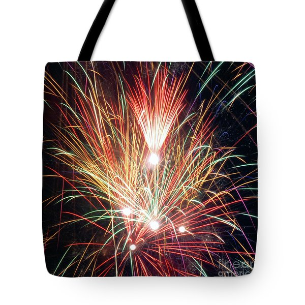 Fireworks One Tote Bag