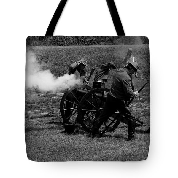 Firing The Canon Tote Bag
