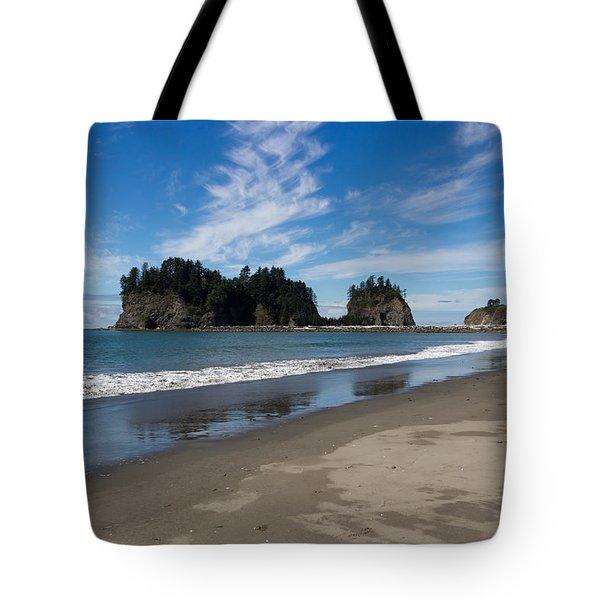 First Beach Tote Bag by Heidi Smith