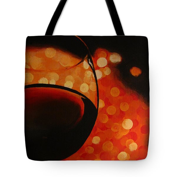 First Date Tote Bag by Kayleigh Semeniuk