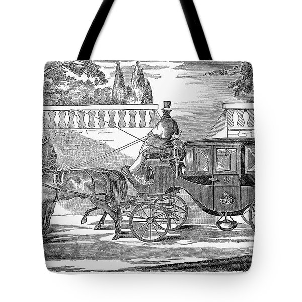 First Lady Carriage, 1851 Tote Bag by Granger