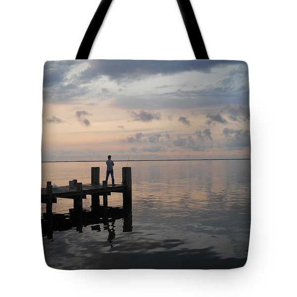 Tote Bag featuring the photograph First Light by Clara Sue Beym