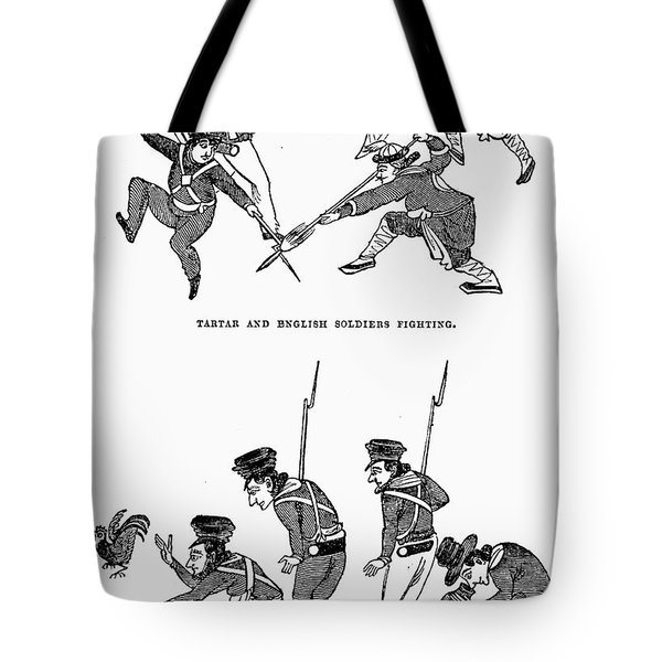 First Opium War: Soldiers Tote Bag by Granger