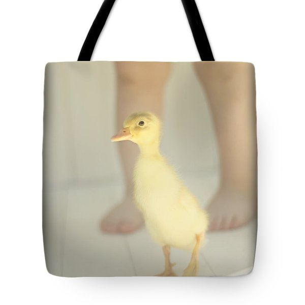 First Steps Tote Bag by Amy Tyler