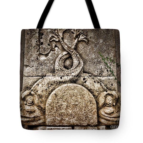 Fish Astrology Tote Bag by Danuta Bennett