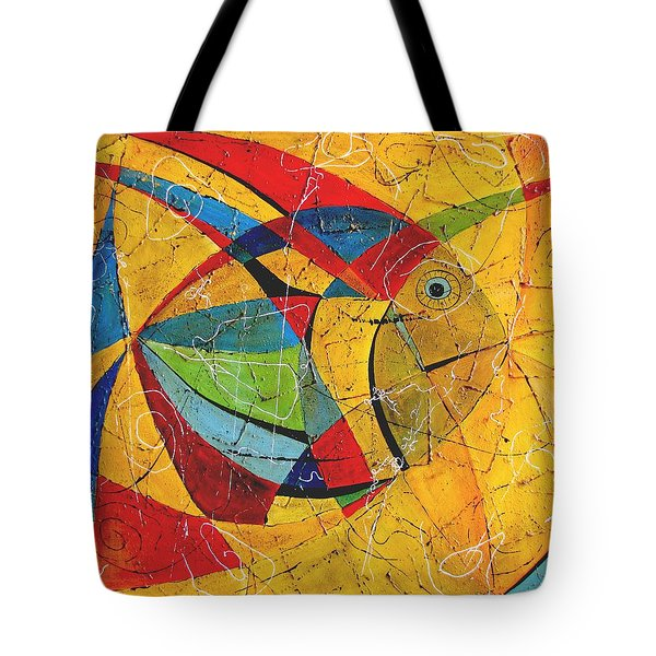 Fish V Tote Bag