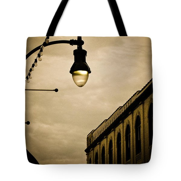 Fisher Street Facades Tote Bag
