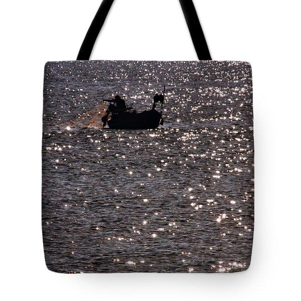 Fisherman Tote Bag by Stelios Kleanthous