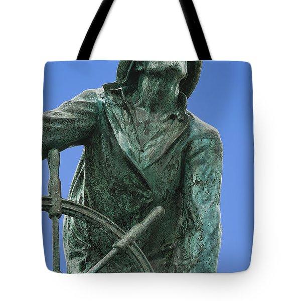 Fisherman's Memorial Tote Bag by John Greim