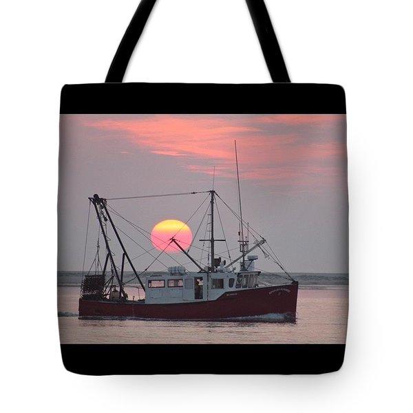 Fishermans Sunrise Tote Bag