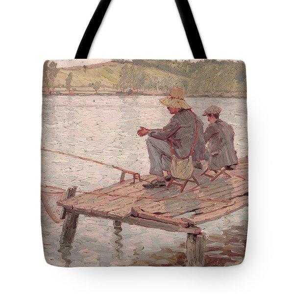 Fishermen Tote Bag by Pierre Roche