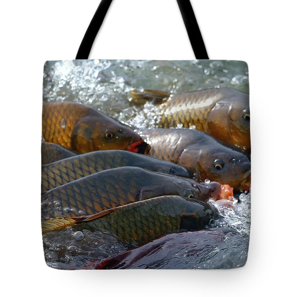 Tote Bag featuring the photograph Fishing And Hunting by Elizabeth Winter