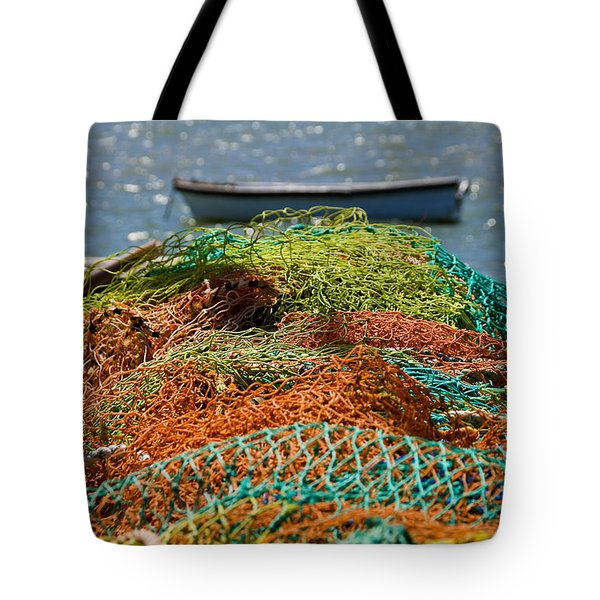 Fishing Nets Tote Bag by Trevor Chriss