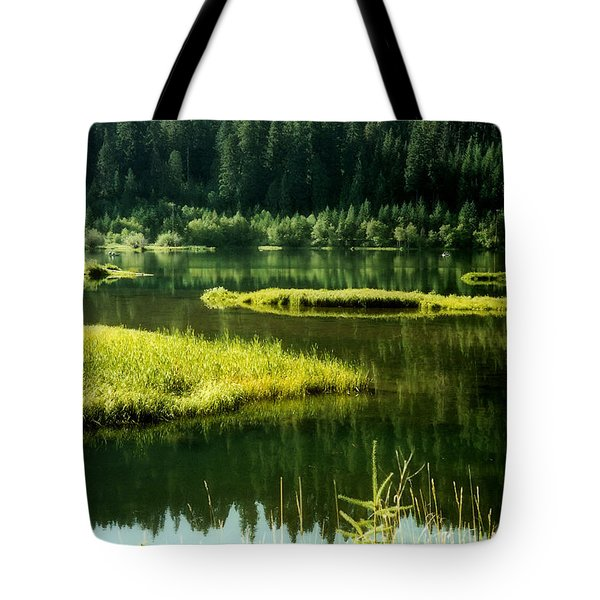 Fishing The Still Water Tote Bag