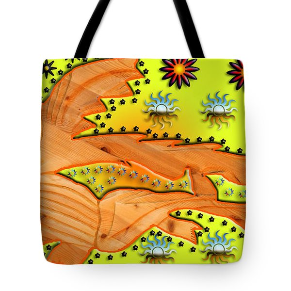 Fishing Under The Stars Tote Bag by Robert Margetts