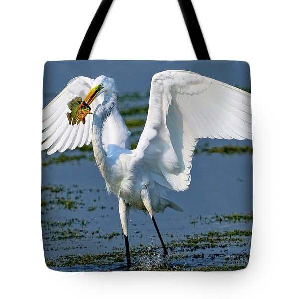 Fish'n In The Morning Tote Bag