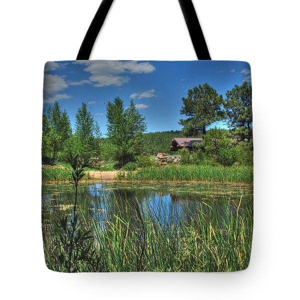 Tote Bag featuring the photograph Flagstaff by Tam Ryan