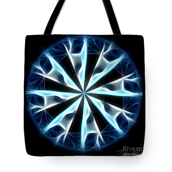 Flame In Tears Tote Bag by Danuta Bennett