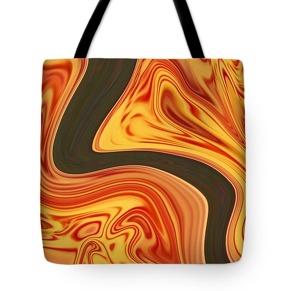 Flaming River Tote Bag by Aimee L Maher Photography and Art Visit ALMGallerydotcom