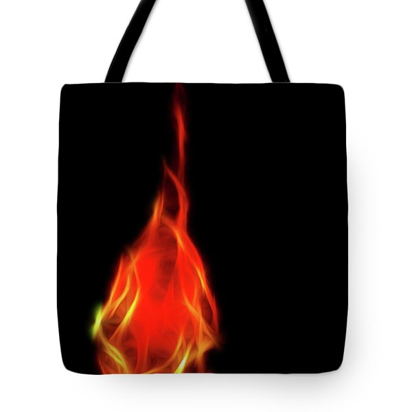 Flaming Tear Tote Bag
