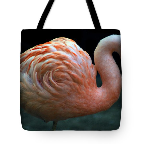 Tote Bag featuring the photograph Flamingo by Tammy Espino