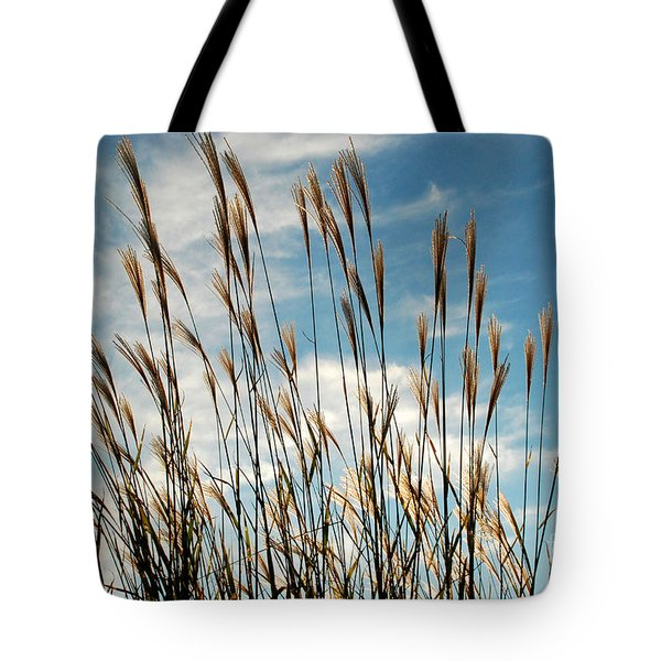 Flare To The Sky Tote Bag