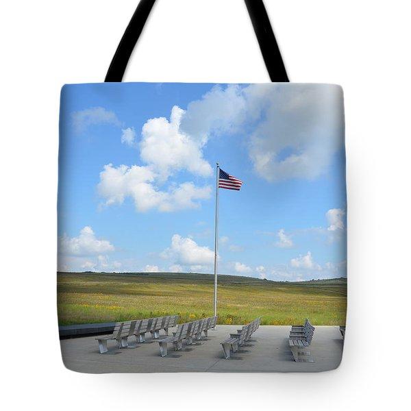 Flight 93 Memorial Tote Bag