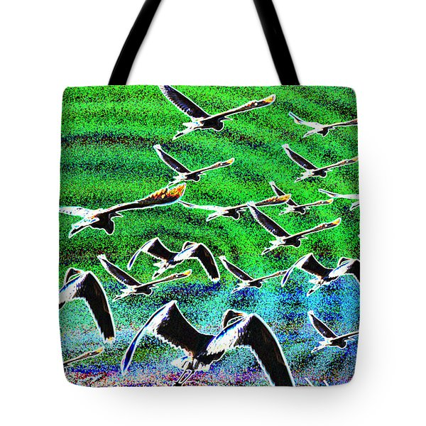 Flight Into Oblivion Tote Bag