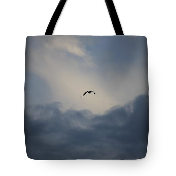 Tote Bag featuring the photograph Flight To Heaven by Penny Meyers