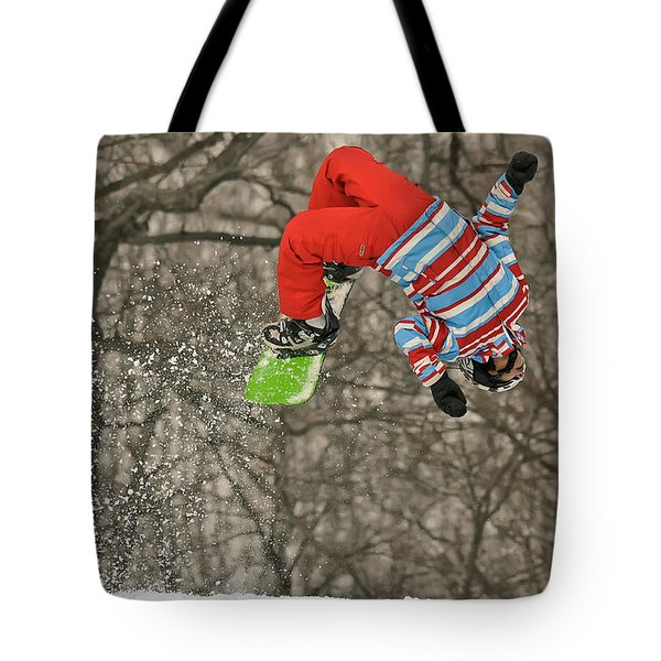 Flippin' Tote Bag by Lois Bryan