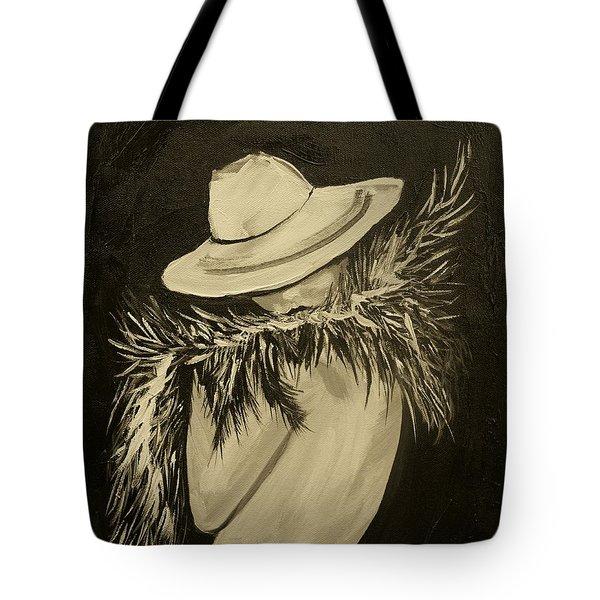 Flirt Three Tote Bag by Leslie Allen