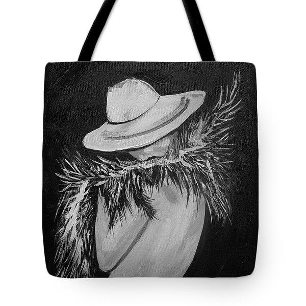 Flirt Two Tote Bag by Leslie Allen