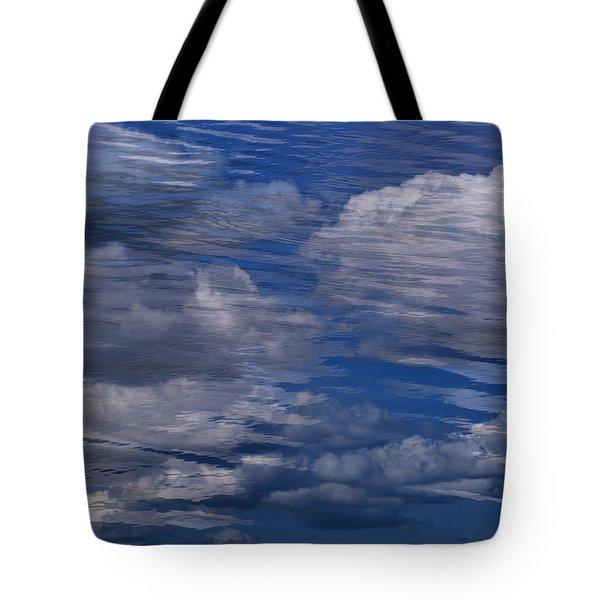 Floating Clouds Tote Bag by Michael Mogensen