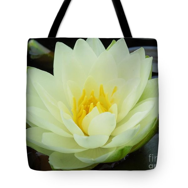 Floating Flower Tote Bag