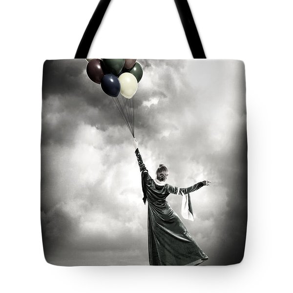 Floating Tote Bag by Joana Kruse