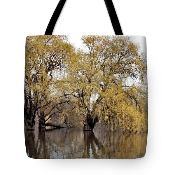 Flooded Trees Tote Bag