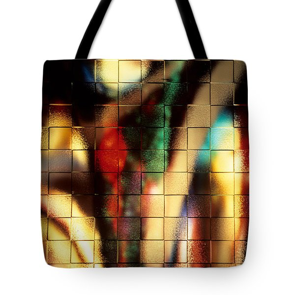 Floral Abstract II Tote Bag by Sharon Elliott