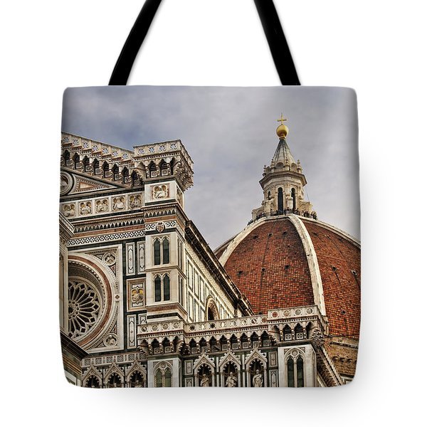 Tote Bag featuring the photograph Florence Duomo by Steven Sparks
