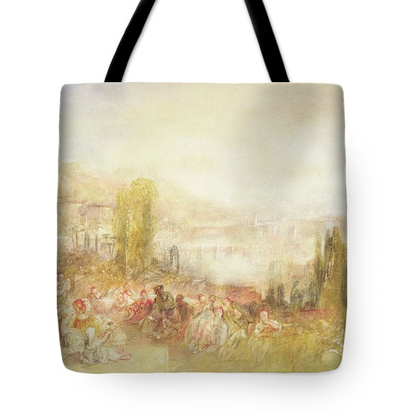 Florence Tote Bag by Joseph Mallord William Turner