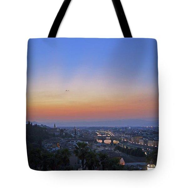 Florence Sunset Tote Bag by La Dolce Vita