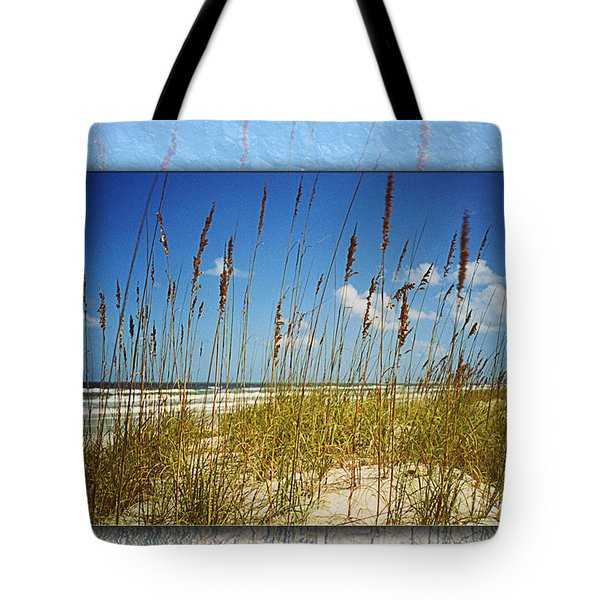 Perfect Day At A Florida Beach Tote Bag by Barbara Middleton