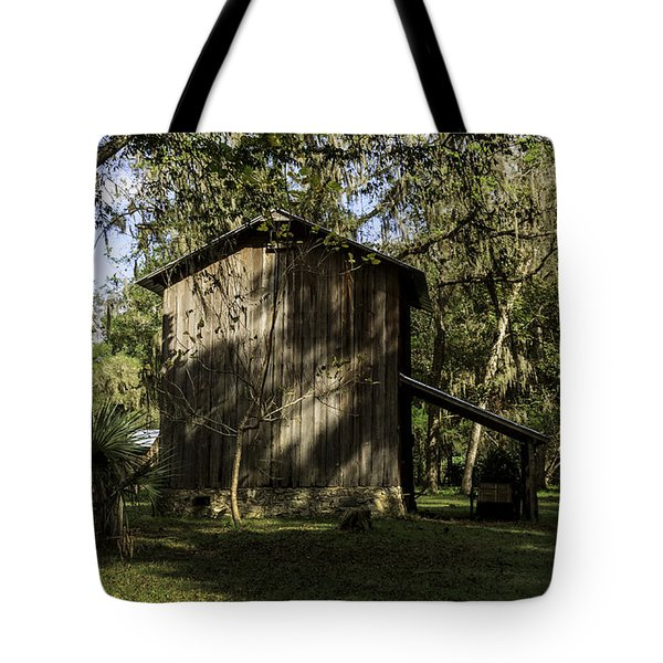 Florida Cracker Barn Tote Bag by Lynn Palmer