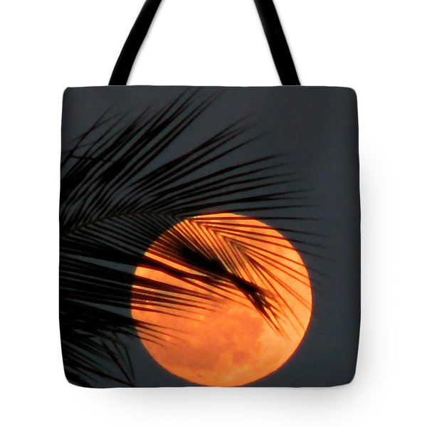 Florida Moonrise Tote Bag