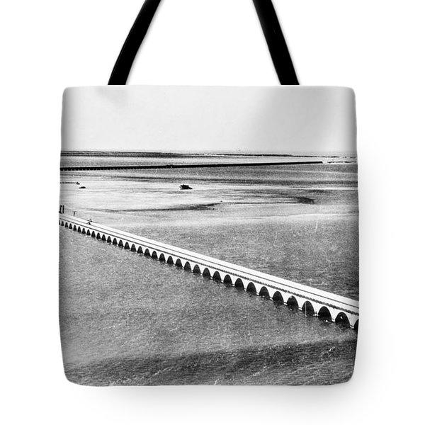 Florida: Overseas Bridge Tote Bag by Granger