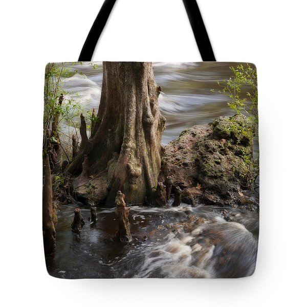 Florida Rapids Tote Bag by Steven Sparks