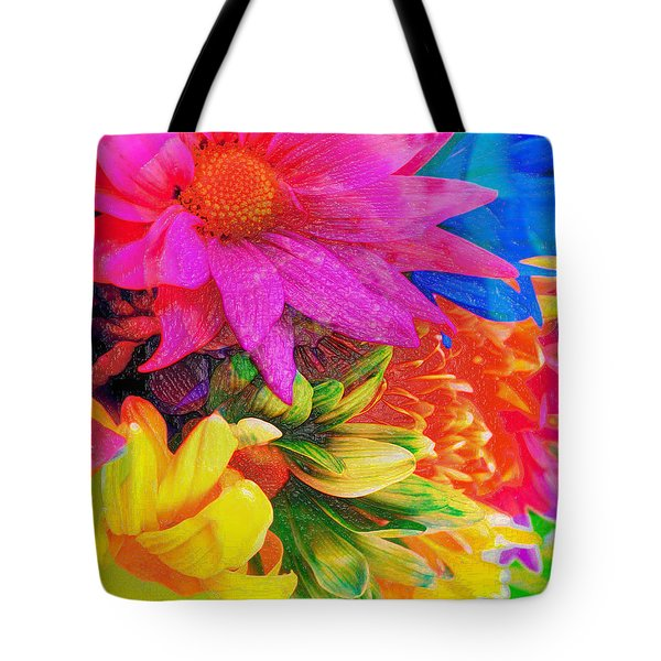 Flower Box Tote Bag by Empty Wall