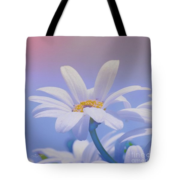 Flower For You Tote Bag by Jutta Maria Pusl