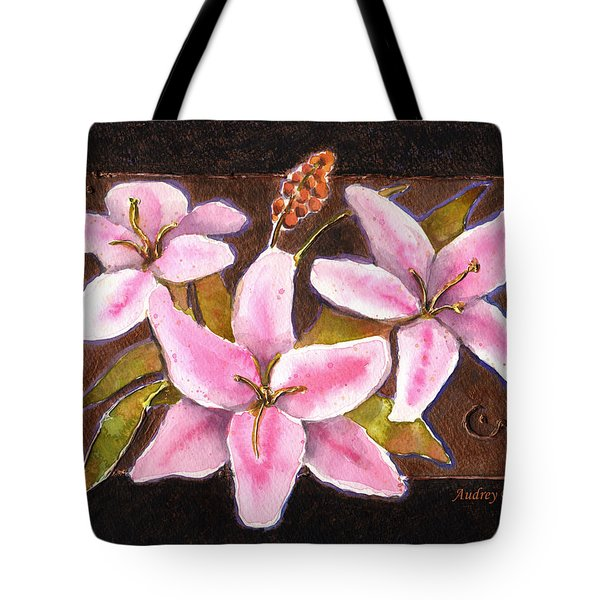 Flower Icon Tote Bag