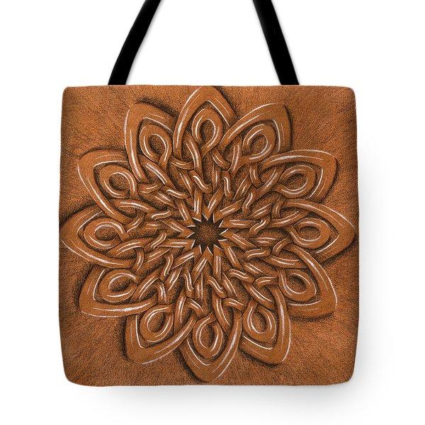 Flower Mandala Tote Bag by Hakon Soreide