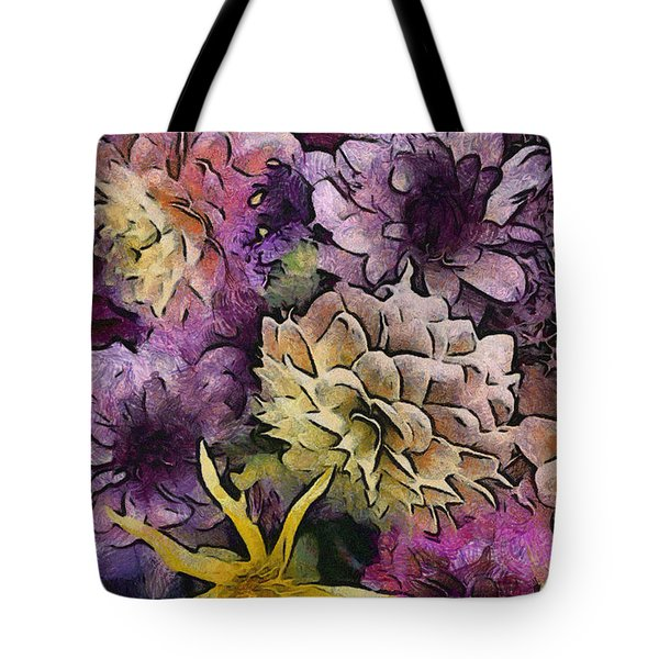 Flower Power Tote Bag by Trish Tritz